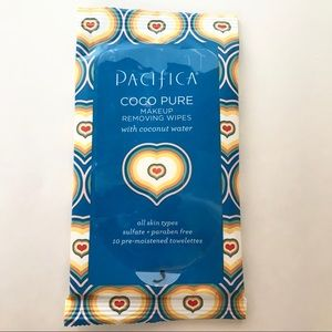 Pacifica TRAVEL Coco Pure Makeup Removing Wipes
